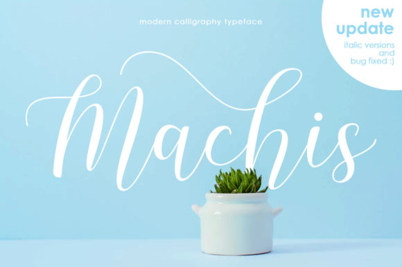 Print on Demand: Machis Script & Handwritten Font By Letteratom