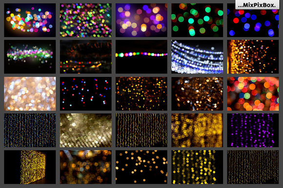 Print on Demand: 100 Bokeh Photo Overlays Graphic Layer Styles By MixPixBox - Image 5