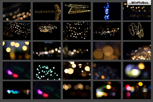 Print on Demand: 100 Bokeh Photo Overlays Graphic Layer Styles By MixPixBox - Image 8