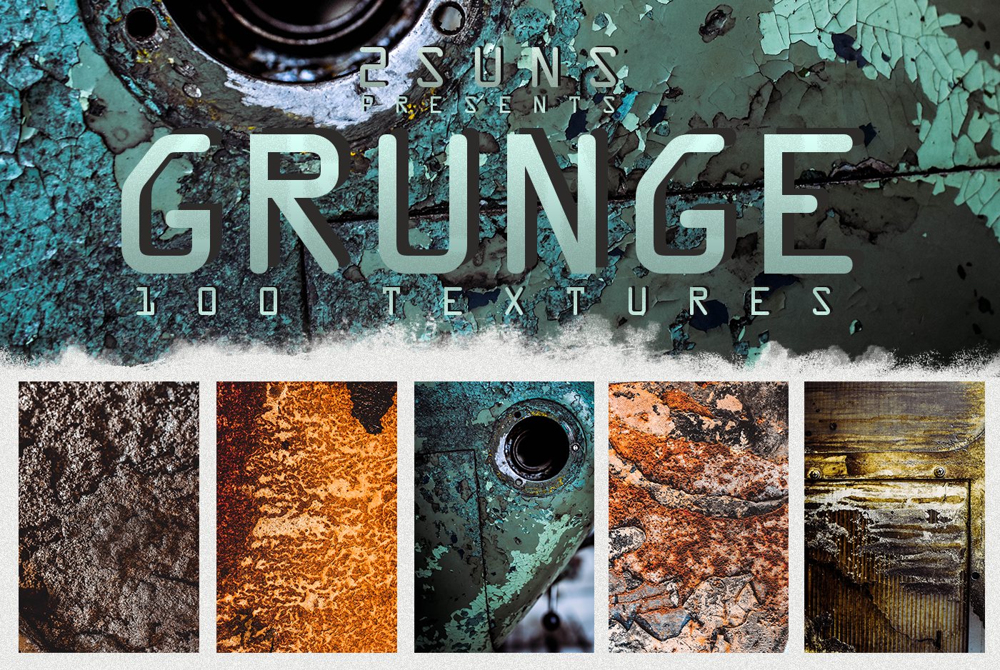 Download Free 100 Grunge Textures Overlays Graphic By 2suns Creative Fabrica for Cricut Explore, Silhouette and other cutting machines.