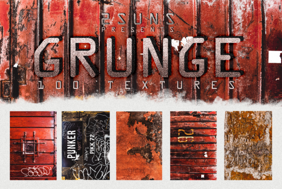 100 Grunge Textures Overlays Graphic Textures By 2SUNSoverlays