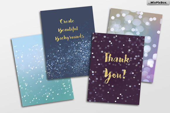 Print on Demand: 100 Silver Lights Photo Overlays Graphic Layer Styles By MixPixBox - Image 3