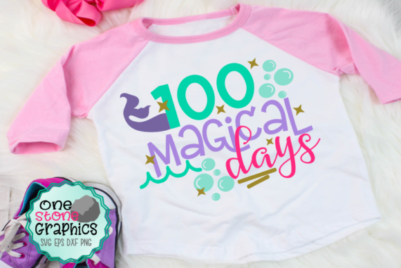 100 Magical Days Graphic Crafts By OneStoneGraphics