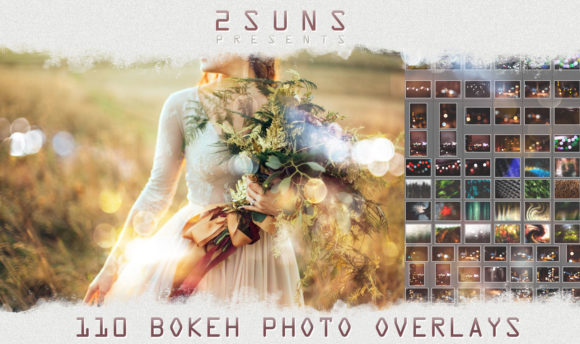 110 Photo Overlays Bokeh Light Textures Graphic Textures By 2SUNSoverlays