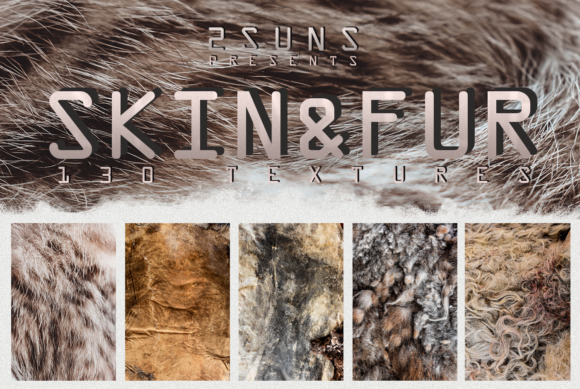130 Skin and Fur Textures Graphic Layer Styles By 2SUNS