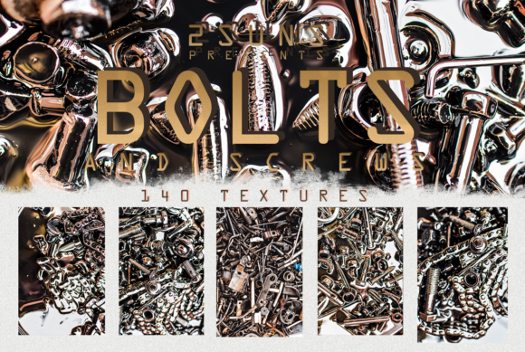 140 Bolt and Screw-nuts Textures Overlay Pack Graphic Layer Styles By 2SUNSoverlays