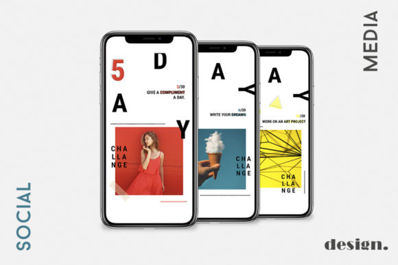 30 Day Challenge Instagram Pack Graphic By Awesome Templates Image 4