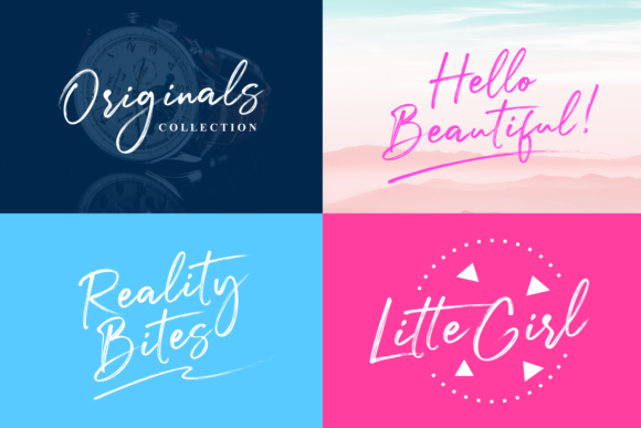 Print on Demand: Julietta Messie Script & Handwritten Font By Ghuroba Studio - Image 10