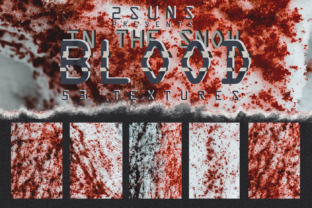 Download Free 53 Textures Pack Blood In The Snow Graphic By 2suns Creative for Cricut Explore, Silhouette and other cutting machines.