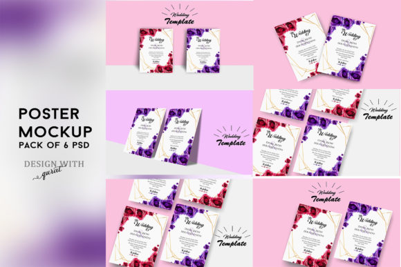 Download Free 6 Minimalist Brochure Mockup Designs Graphic By Designwithqurat for Cricut Explore, Silhouette and other cutting machines.