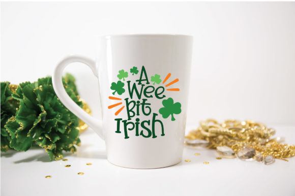 Download Free A Wee Bit Irish Svg Graphic By Oldmarketdesigns Creative Fabrica for Cricut Explore, Silhouette and other cutting machines.