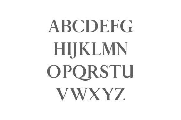 Print on Demand: Aable Family Serif Font By Creative Tacos - Image 2
