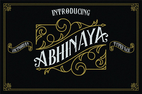 Download Free Abhinaya Font By Inspiratype Creative Fabrica for Cricut Explore, Silhouette and other cutting machines.