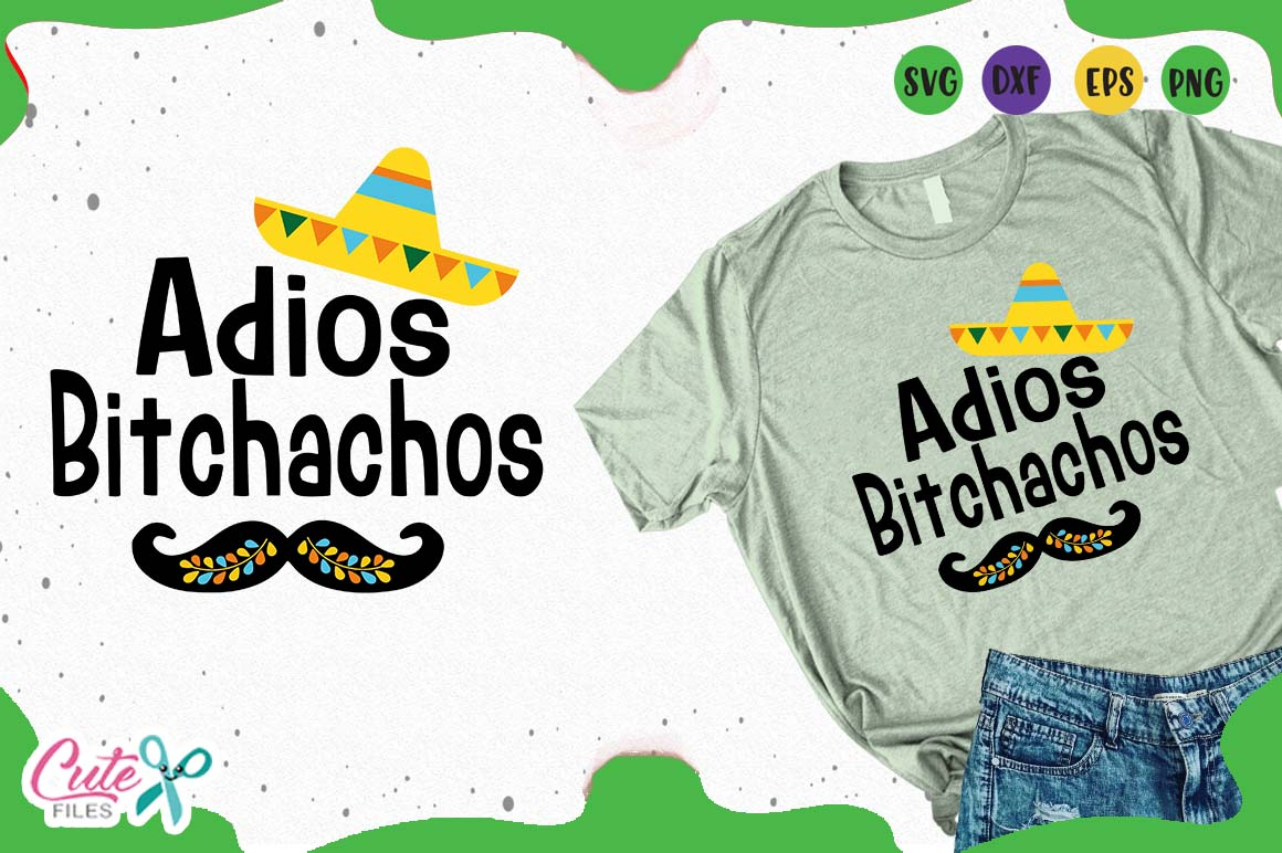 Download Free Adios Bichachos Graphic By Cute Files Creative Fabrica for Cricut Explore, Silhouette and other cutting machines.