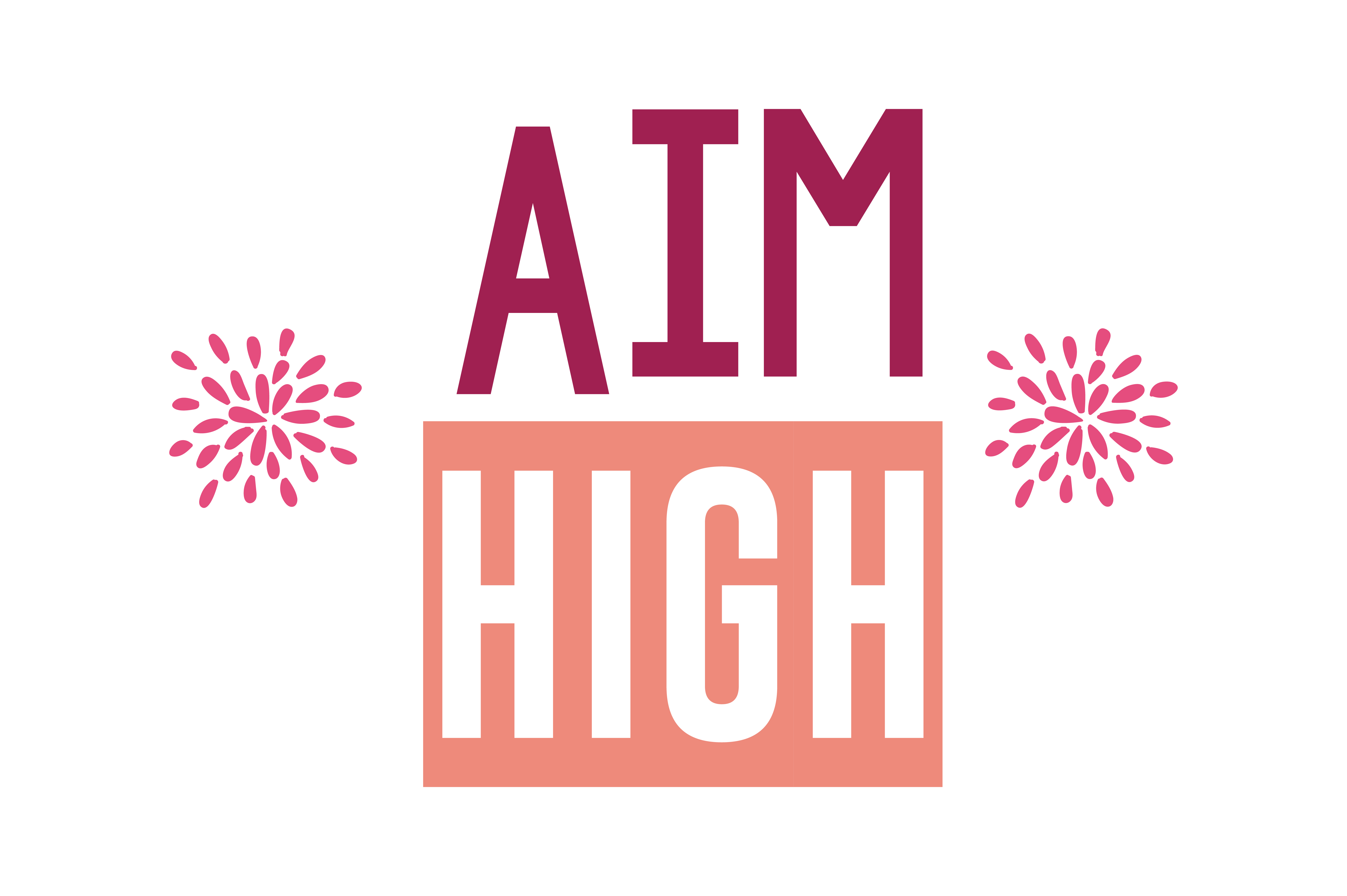 Download Free Aim High Quote Svg Cut Graphic By Thelucky Creative Fabrica for Cricut Explore, Silhouette and other cutting machines.