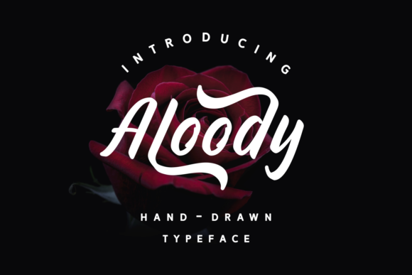 Print on Demand: Aloody Script & Handwritten Font By Dani (7NTypes)