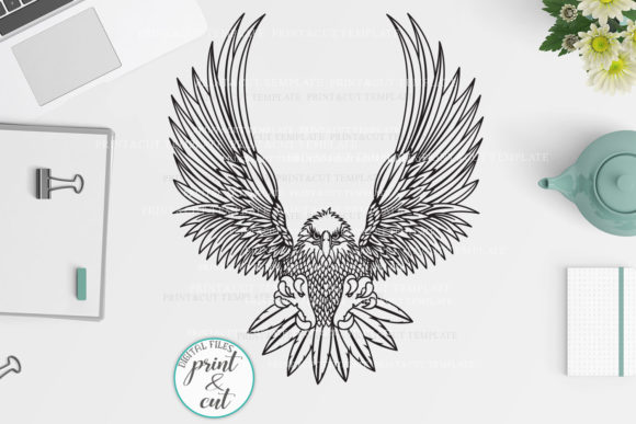 American Eagle Svg Graphic Crafts By Cornelia
