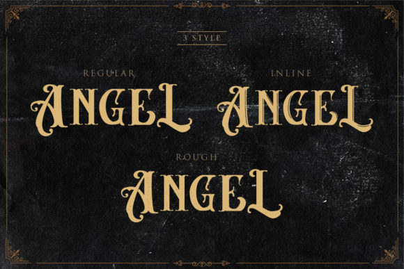 Angel Blish Family Font By Sigit Dwipa Image 2