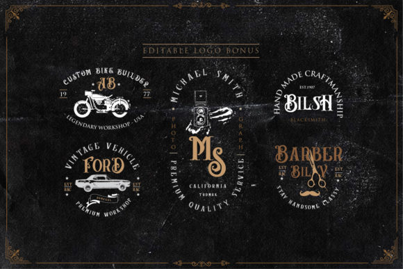 Angel Blish Family Font By Sigit Dwipa Image 3