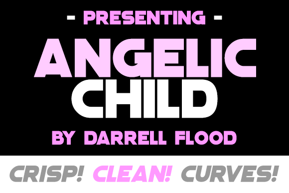 Angelic Child Sans Serif Font By Dadiomouse