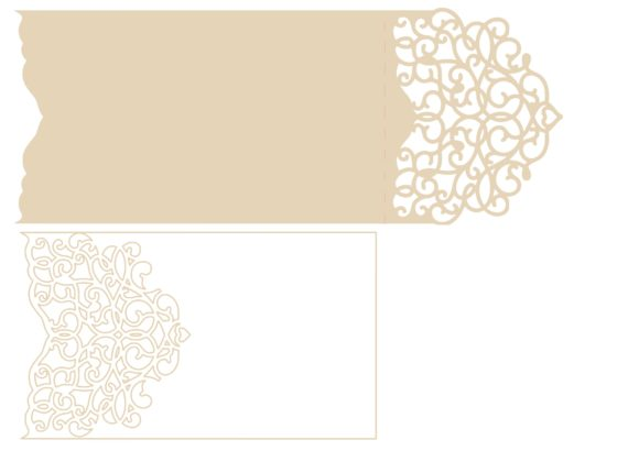 Download Free Arabescos Wedding Envelope Graphic By Jgalluccio Creative Fabrica for Cricut Explore, Silhouette and other cutting machines.