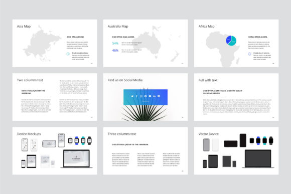 Print on Demand: Arona Keynote Template + 20 Photos Graphic Presentation Templates By pixasquare - Image 13