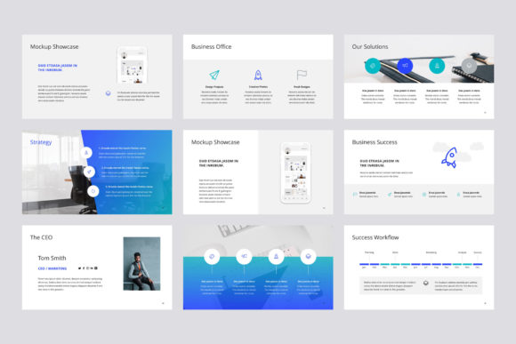 Print on Demand: Arona Keynote Template + 20 Photos Graphic Presentation Templates By pixasquare - Image 3