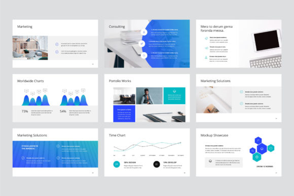 Print on Demand: Arona Keynote Template + 20 Photos Graphic Presentation Templates By pixasquare - Image 4
