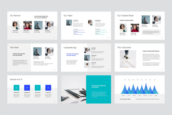 Print on Demand: Arona Keynote Template + 20 Photos Graphic Presentation Templates By pixasquare - Image 6