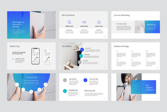 Print on Demand: Arona Keynote Template + 20 Photos Graphic Presentation Templates By pixasquare - Image 8