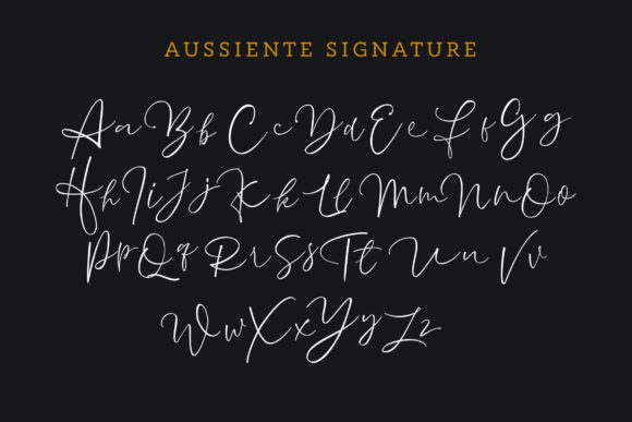 Aussiente Font By InspiraType Image 8