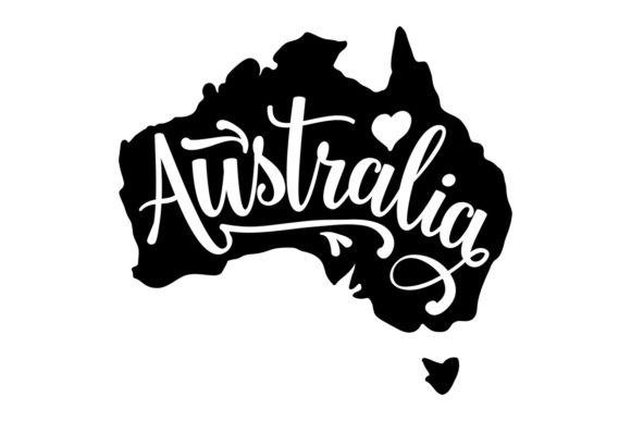 Australia Australia Craft Cut File By Creative Fabrica Crafts