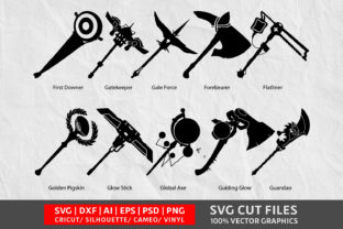 Download Free Axe Cut Files Graphic By Design Palace Creative Fabrica for Cricut Explore, Silhouette and other cutting machines.