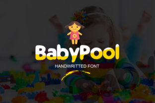 Baby Pool Font By ContestDesign