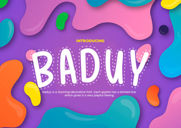 Print on Demand: Baduy Decorative Font By Docallisme