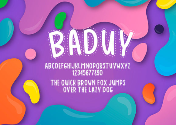 Print on Demand: Baduy Decorative Font By Docallisme  - Image 2