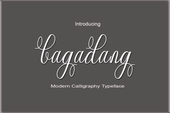 Print on Demand: Bagadang Script & Handwritten Font By faisal_Alfaraby
