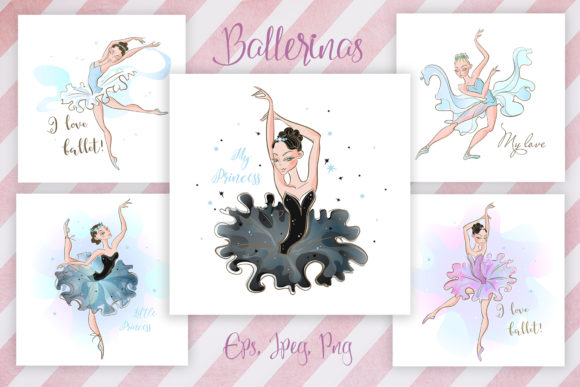 Ballet is My Love! Graphic By grigaola Image 3
