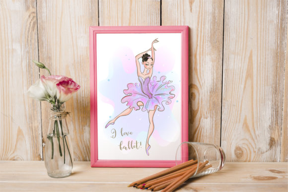 Ballet is My Love! Graphic By grigaola Image 4