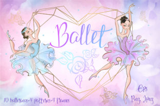Ballet is My Love! Graphic Illustrations By grigaola