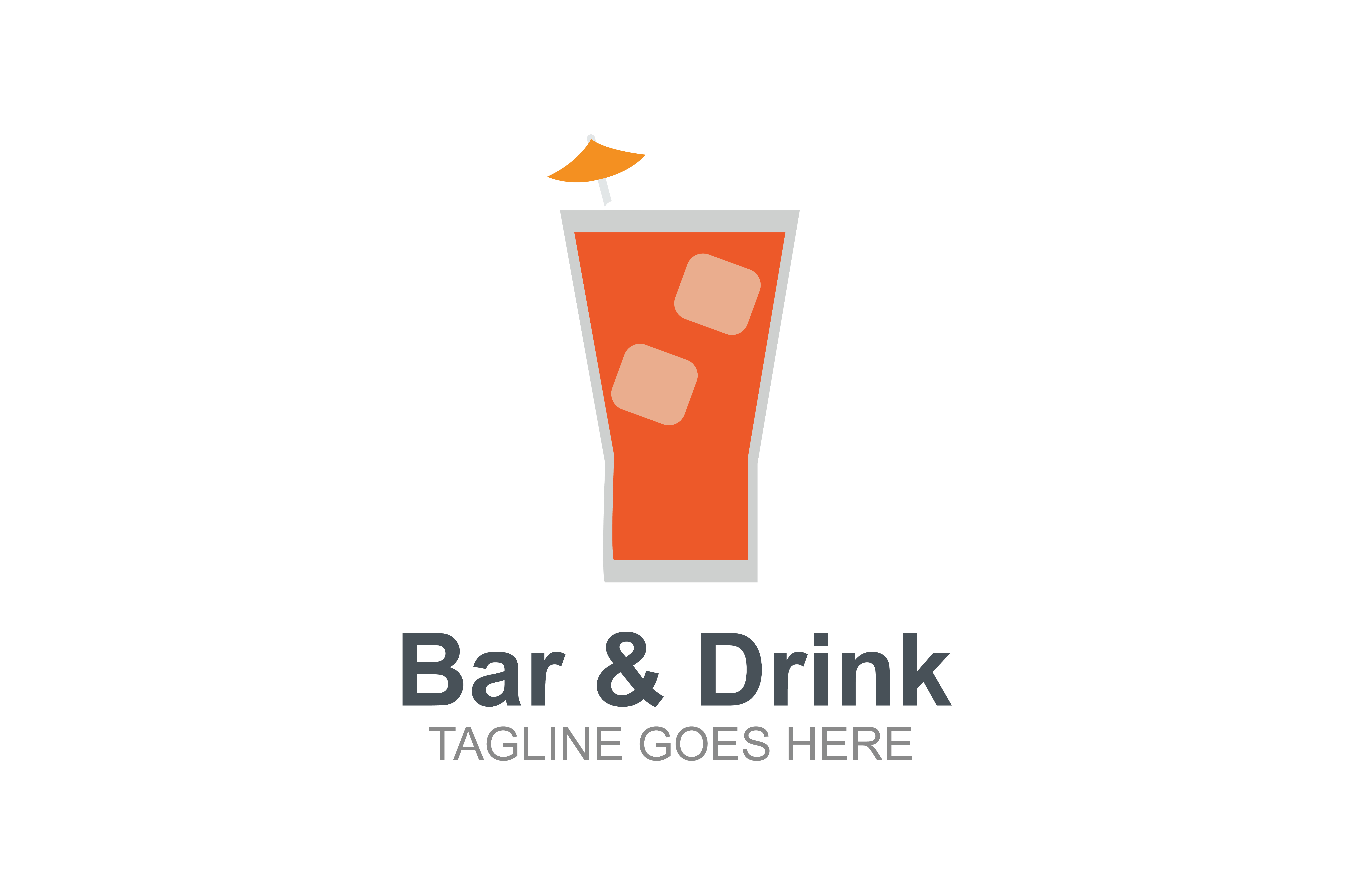 Download Free Bar And Drink Logo Graphic By Guardesign Creative Fabrica for Cricut Explore, Silhouette and other cutting machines.