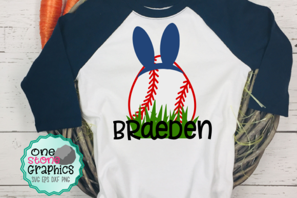 Download Free Baseball Easter Egg Svg Graphic By Onestonegraphics Creative for Cricut Explore, Silhouette and other cutting machines.
