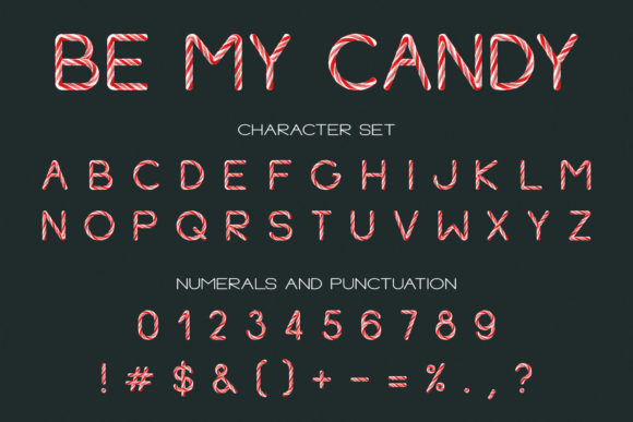 Be My Candy Font By Anastasiia Macaluso Image 4