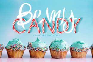 Be My Candy Font By Anastasiia Macaluso
