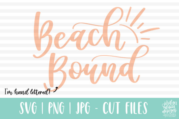 Beach Bound SVG Graphic Crafts By jordynalisondesigns
