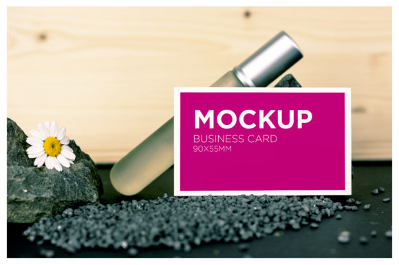 Beauty Business Card Mockup Graphic Product Mockups By dumitrasconiu.design - Image 1