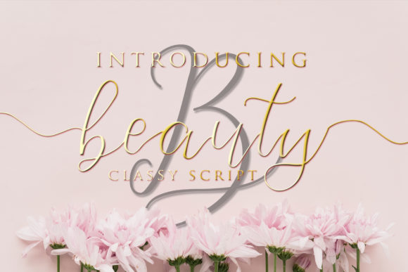 Beauty Script & Handwritten Font By Sharon ( DMStd )