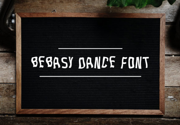 Print on Demand: Bebasy Dance Sans Serif Font By Laks Mi