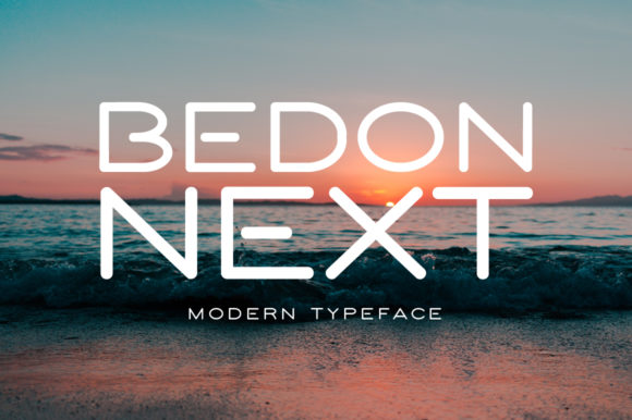 Print on Demand: Bedon Next Display Font By Spanking Fonts