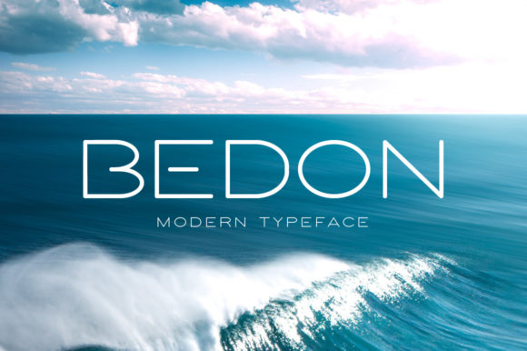 Print on Demand: Bedon Display Font By Spanking Fonts